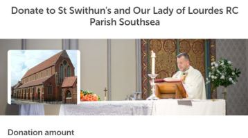 Help support our Parish Missions
