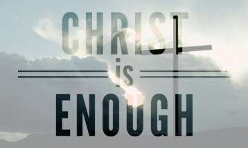 Fr Robert McTeigue - Can Christ be enough for you?