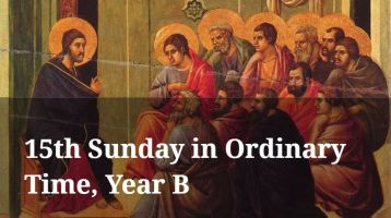 Newsletter: 11th July 2021 - 15th Sunday Ordinary Time Year B