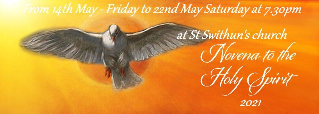 Holy Spirit Novena Prayers – May 14th to 22nd 2021