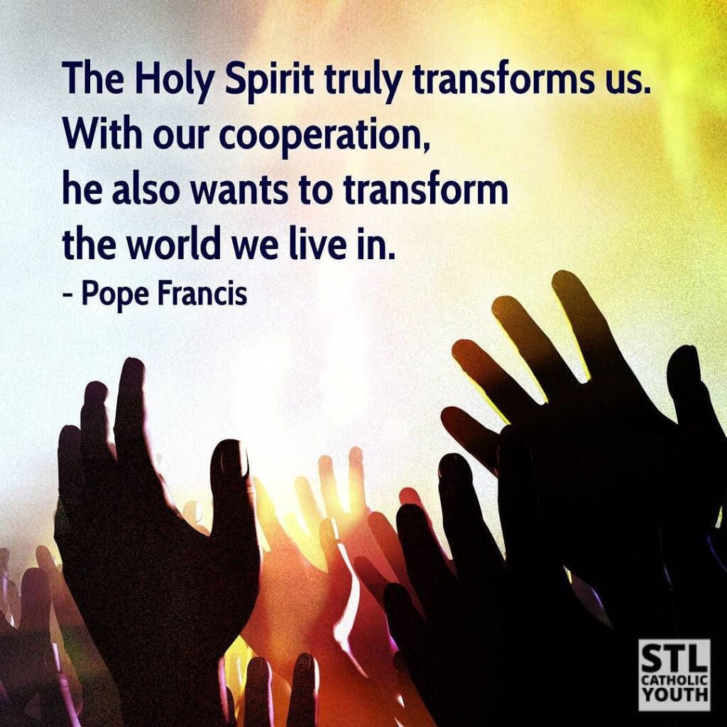 Daily Devotion Saturday 3rd April 2021 The Holy Spirit