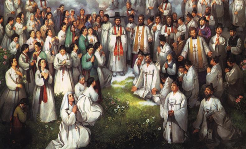 Saints Andrew Kim Taegon Paul Chong Hasang and Companions