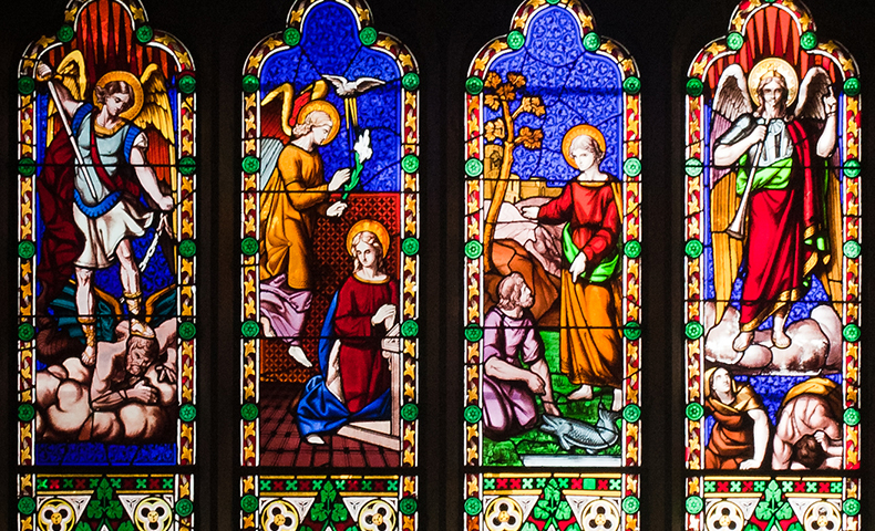 Saints Michael Gabriel and Raphael
