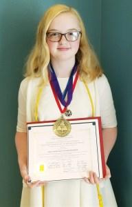 2018 Valedictorian Mary Margaret Speed