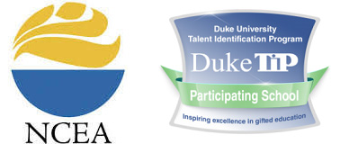 Badges for NCEA and Duke TIP