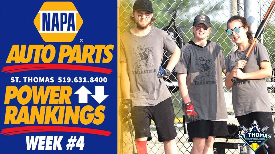 St. Thomas NAPA Auto Parts Power Rankings | Week 4