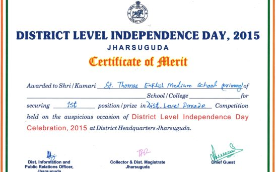 District Level Independence Day 2015