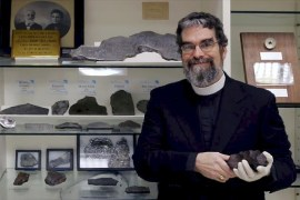 Brother Guy Consolmagno (Photo provided by the Vatican Observatory)