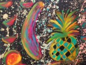 Neon Fruit by Malcolm Martin