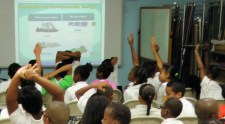 Students at Alexander Henderson Elementary on St. Croix had the answers during Virgin Islands Energy in Education Week.