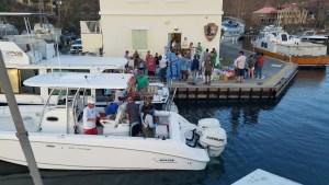 Caribbean Sea Adventures loads up Sunday on St. Croix. (Photo provided by Caribbean Sea Adventures)