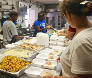 My Brothers Workshop pitched in to serve residents after hurricanes. (Kelsey Nowakowski photo)