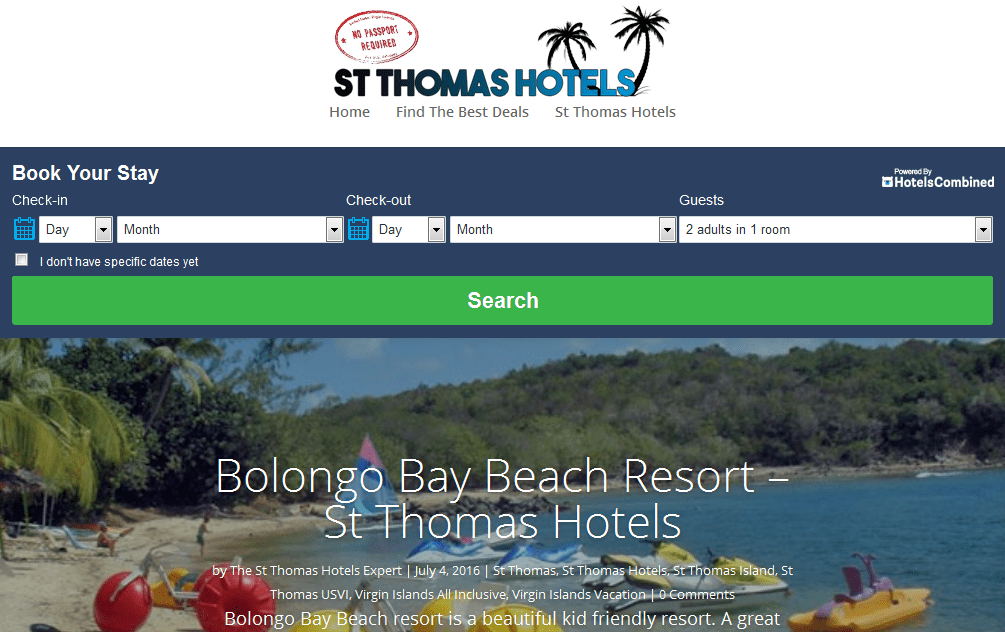 St Thomas Hotels – Find the best deals on hotels in St Thomas Virgin Islands