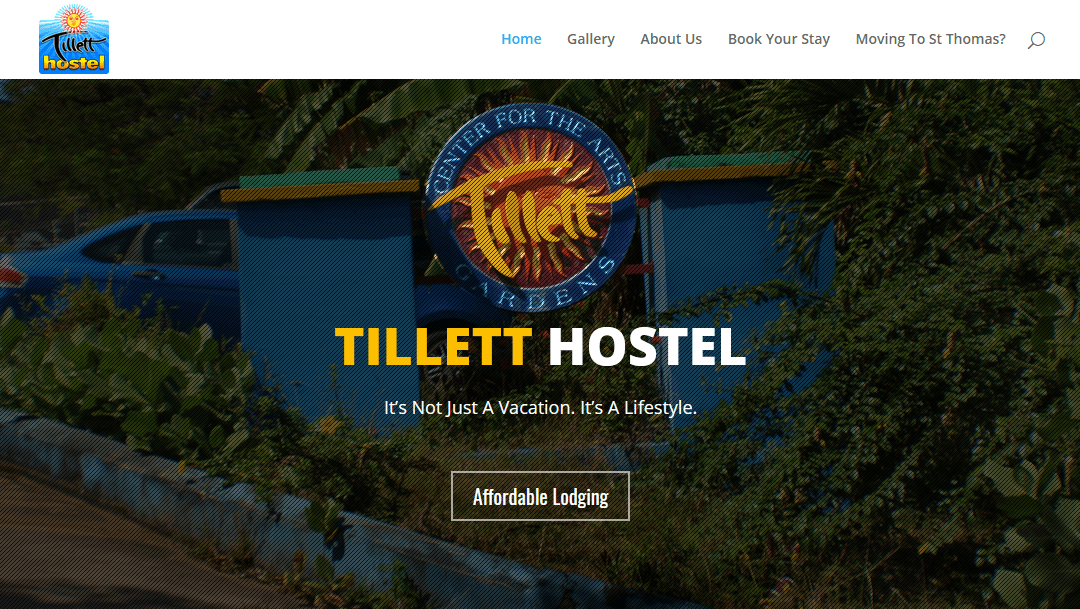 "We Are Proud To Announce The All New ""Tillett Hostel"" Website!"
