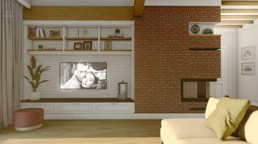 Projekt wnętrza domu w Otominie k. Gdańska - Projekt: Pracownia STTYK, Joanna Polewczak, Natalia Wańkowicz - Wizualizacja 23