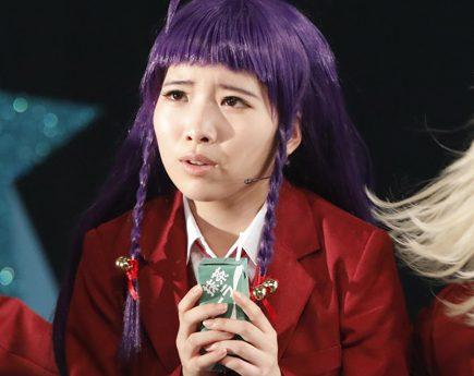 髪型っつーかヅラのせい!? くーか(STU48榊美優)、太った?