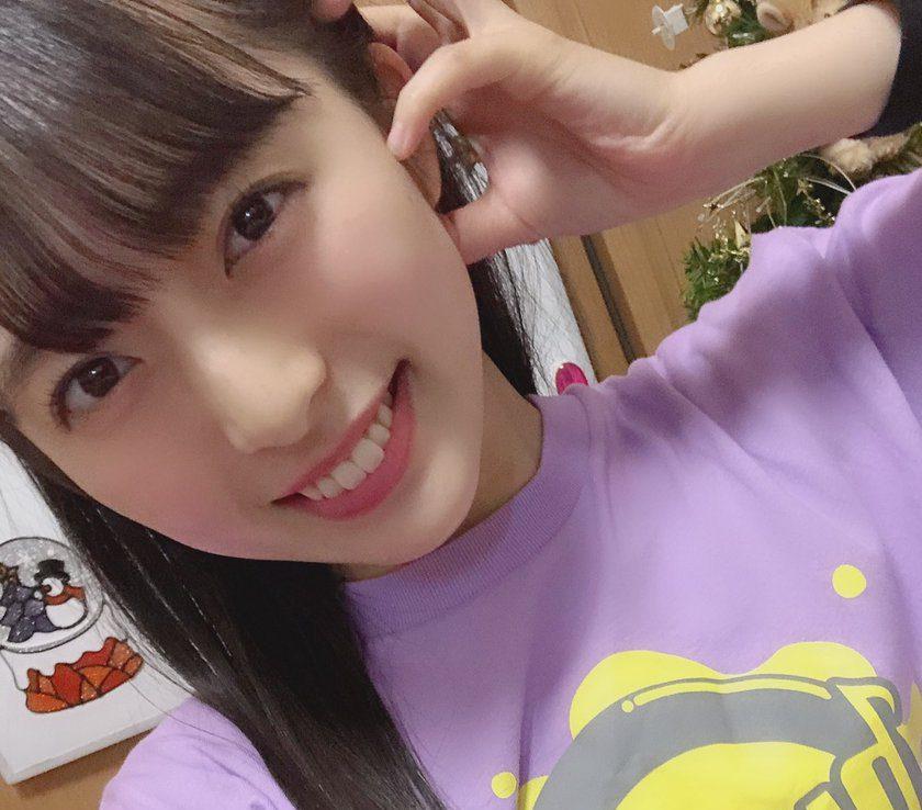 STU48 今村美月『今日はSTUDIOTシャツを 着ていました!!!  Web販売も始まったので ぜひぜひ!!!可愛いよ』