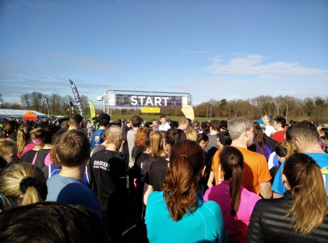 Ready to start at the Richmond Half