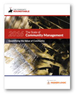 State of Community Management 2016 cover