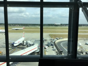 Heathrow plane watching