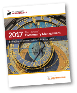 Community Roundtable State of Community Management 2017