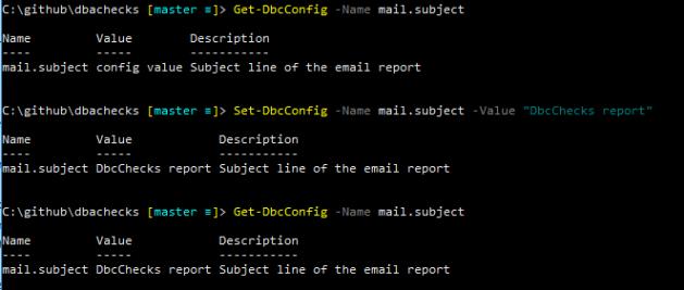 Set-DbcConfig example