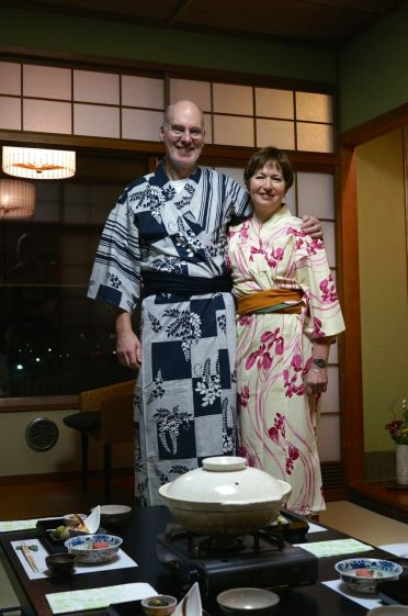 SMB + HVW at the ryokan in Arashiyama