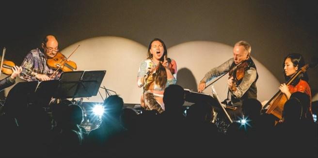 Kronos Quartet and Tanya Tagaq