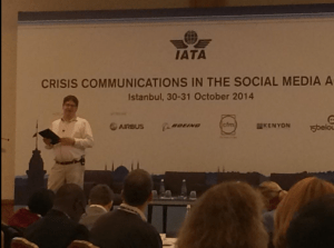 IATA Crisis Communications in the Social Media Age conference