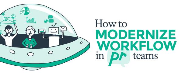PR workflow graphic