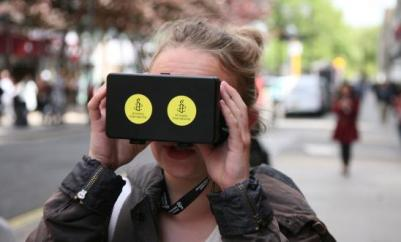Amnesty used VR to increase donations