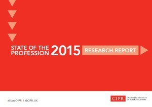 State of PR Profession 2015