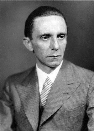 Joseph Goebbels photo