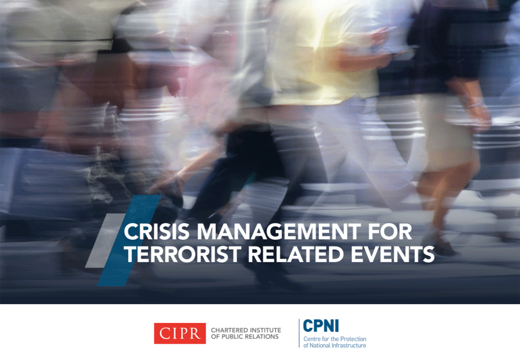 Crisis Management for Terrorist Related Events cover