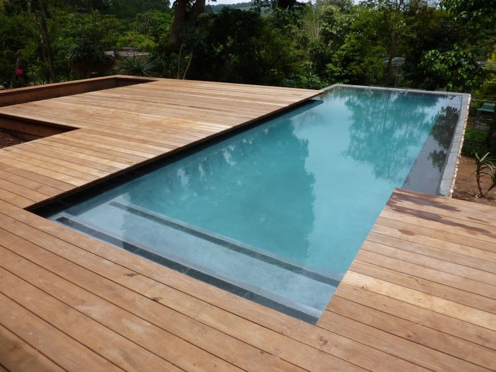 Timber Decked Pools