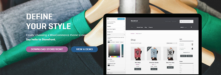StoreFront The Official WooCommerce Theme by WooThemes