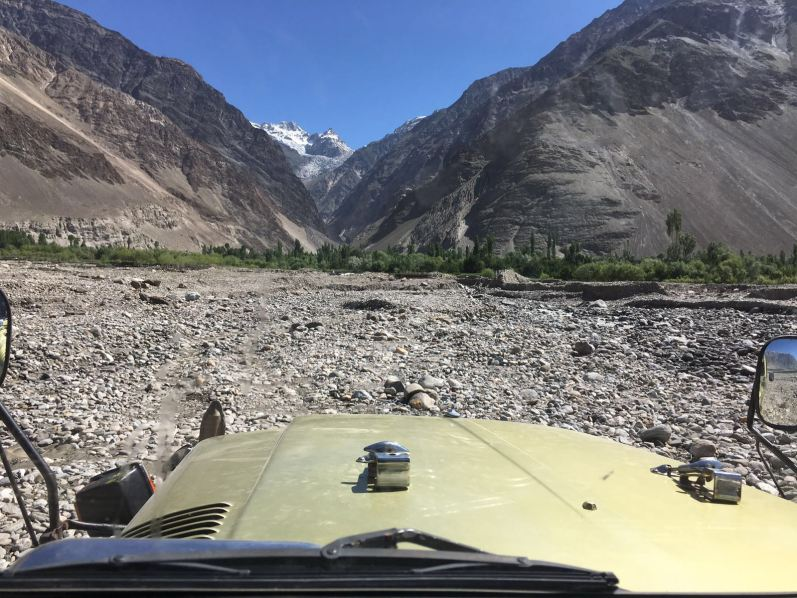 The road from Skardu to Askole.