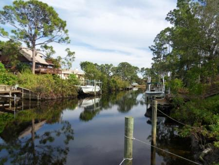 Rustic Hills, Palm City, Florida, Canals