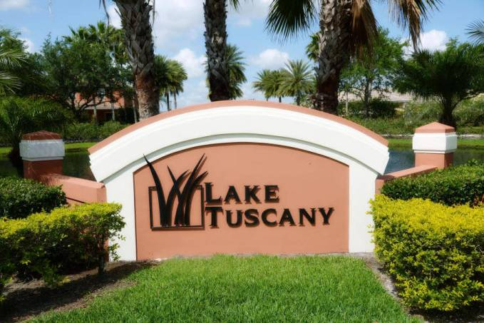 Lake Tuscany in Stuart Florida