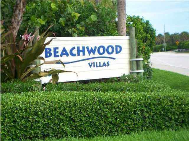 Beachwood Villas on Hutchinson Island in Stuart FL