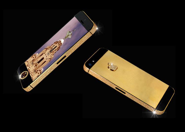 iPhone 5 Black Diamond - 5 Smartphone Termahal Di Dunia, Ini Mahal. Kau Tak Akan Kuat, Buat Aku Saja