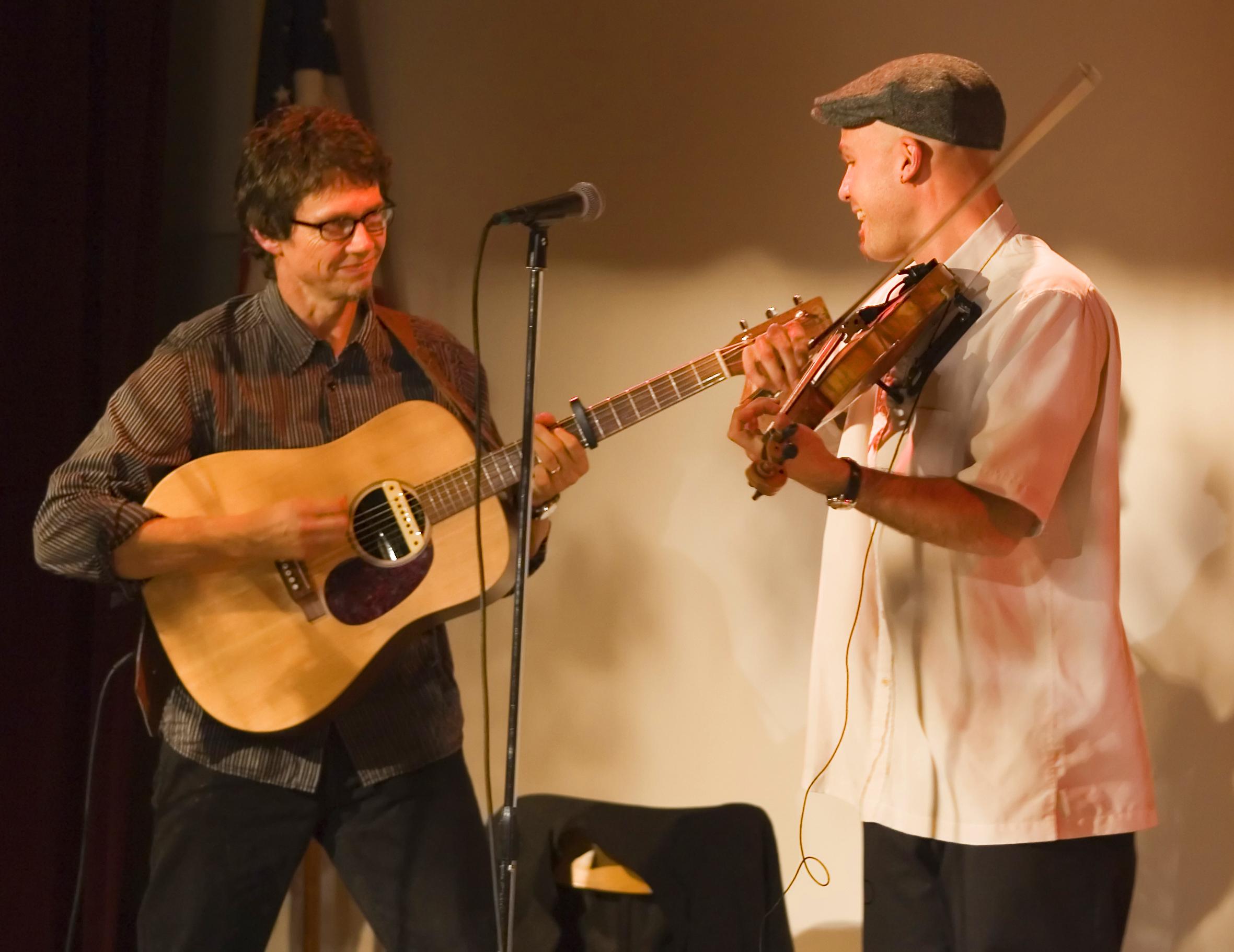 Stuart Mason and John Weed