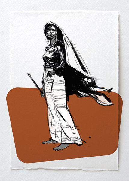 Sketchbooks Female Of The Species The Art Of Viktor Kalvachev