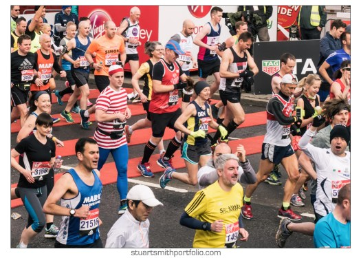 London Marathon Pictures - Where's Wally?