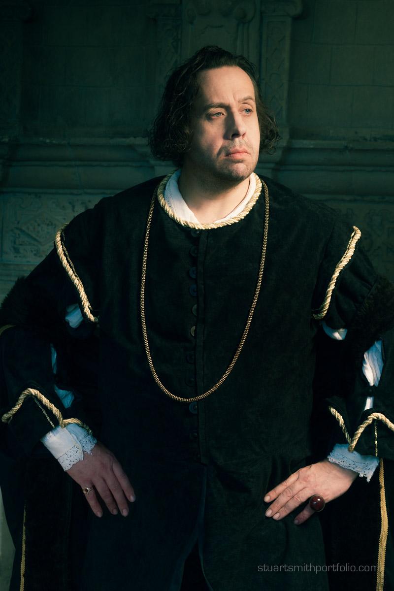 Fine Art Photography Tudor Nobleman