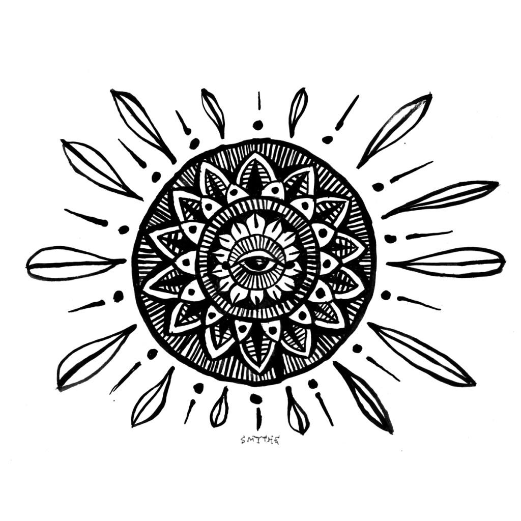 Shine madala art