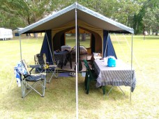 Drive-In Camping Tent 1