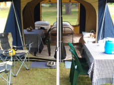 Drive-In Camping Tent 2