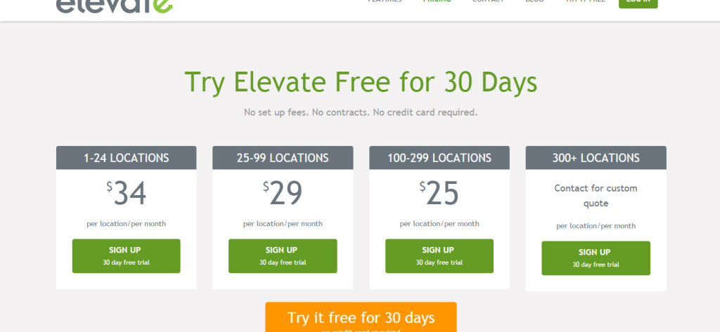 Elevate Research Pricing