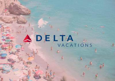 Delta Vacations August Travel Agent Campaign